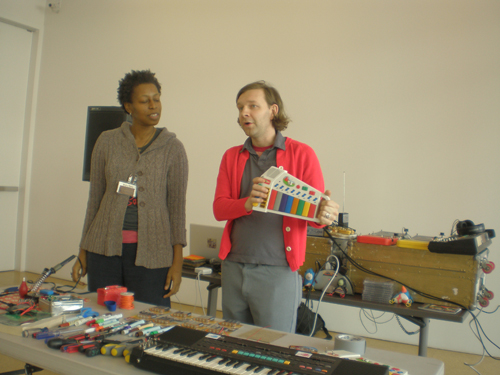 Beatrix*Jar explain how to hack battery operated instrumental toys. via Remix Theory