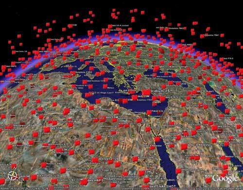 JunkSpotting WARNING! mulai tahun 2012 sampah akan berjatuhan dari luar angkasa
